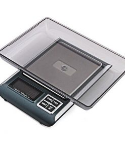 Digital Precision Electronic Weighing Scale - Black