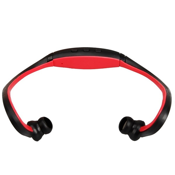 Wireless Sports Bluetooth Headset - Black/Red