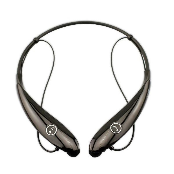 Bluetooth 4.0 Sports Neckband Stereo Headset - Black
