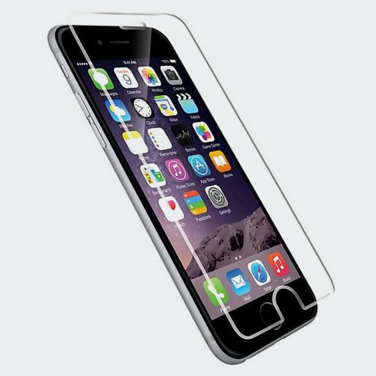 Yoobao 0.3mm Tempered Glass Protector for iPhone 6 - Black