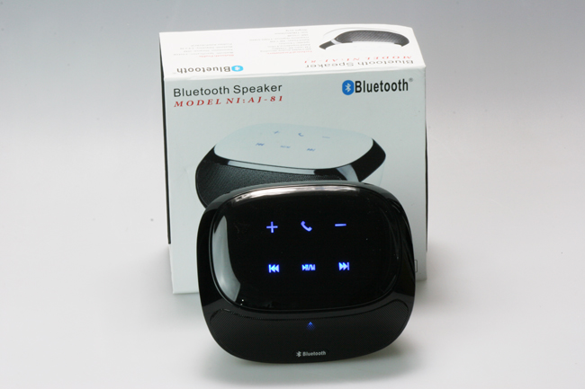 Wireless Speaker with Bluetooth Stereo - Black