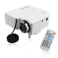 Mini 48 Lumens Multimedia LED Projector - White