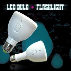 Multifunction 2 Watts 20 LED Emergency Light Bulb Flashlight