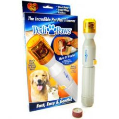 PediPaws Electronic Pet Manicure Nail Safe Trimmer for Cats and Dogs