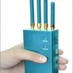 Anti-tracking GPS L1 L2 L3 L4 L5 Signal Jammer - Light Blue