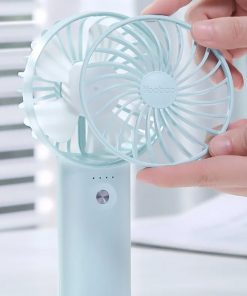 Yoobao F3 Pro 6000mAh Powerbank With Mini Fan- Blue - LatestGadget